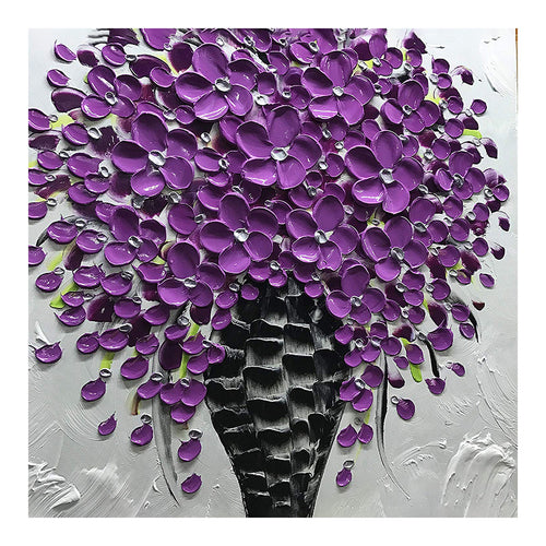Oil Flower 30x30cm(canvas) full round drill diamond painting