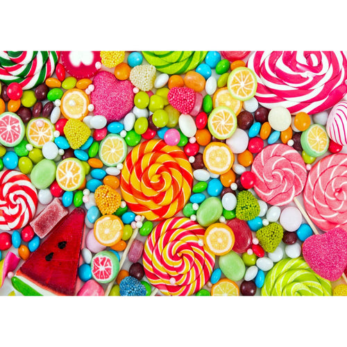 Candy Ornaments 40x30cm(canvas) full round drill diamond painting