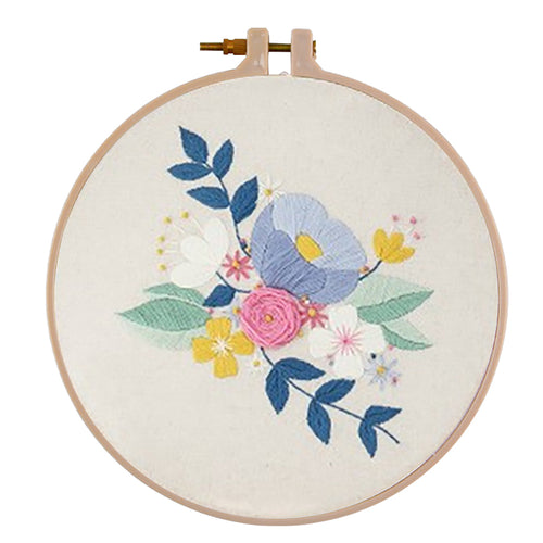 30 X 30cm DIY Potted Plant Embroidery Needlework Cross Stitch (B511127)