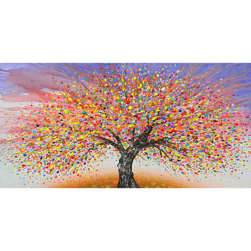 Picture Tree 50x100cm(canvas) full round drill diamond painting