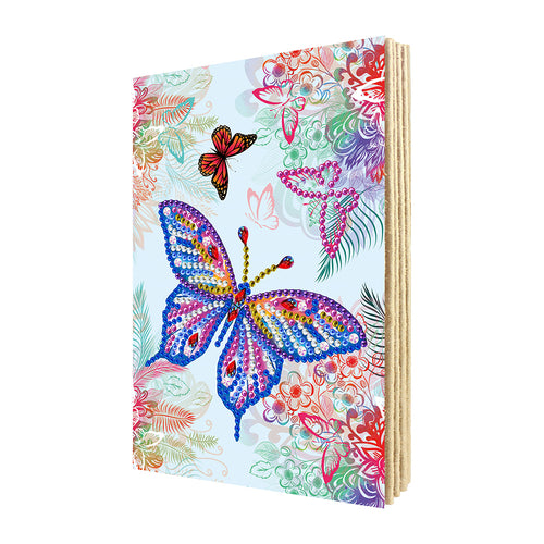 DIY Special Shaped Diamond Painting Photo Album Butterfly Embroidery Craft