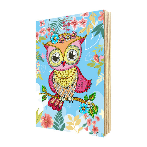 DIY Special Shaped Diamond Painting Photo Album Cute Bird Embroidery Craft