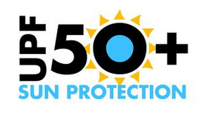 UPF 50+ protects frail skin from the Sun