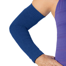 Load image into Gallery viewer, Navy blue arm protective sleeves