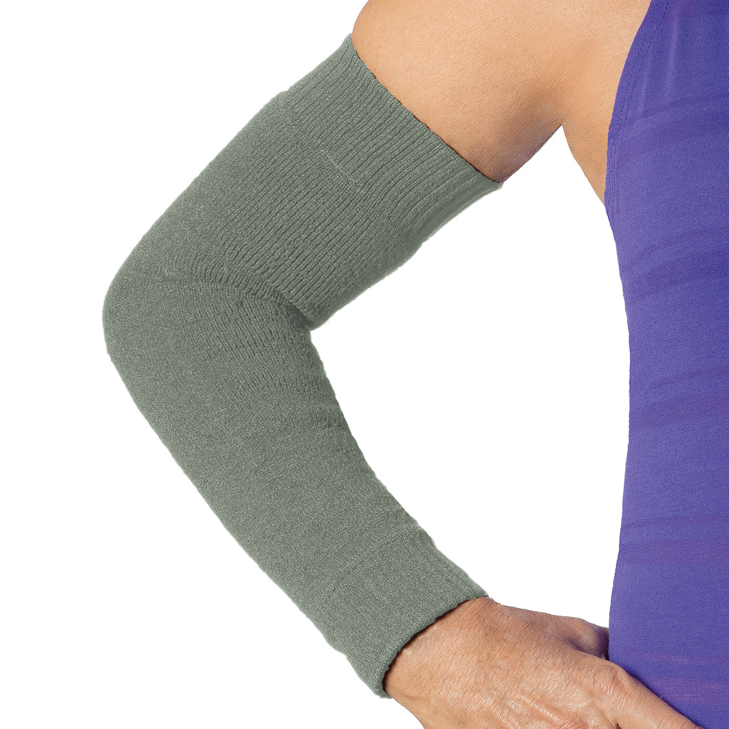 protection for the skin with this full arm sleeve olive