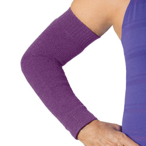 Skin protection in purple colour