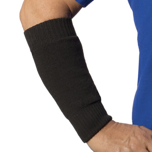 Forearm protector sleeve in black for practical use