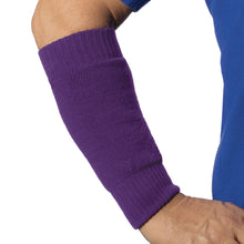 Load image into Gallery viewer, Forearm arm sleeve in purple colour - looks awesome!