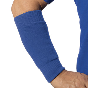 Royal blue color forearm skin protectors