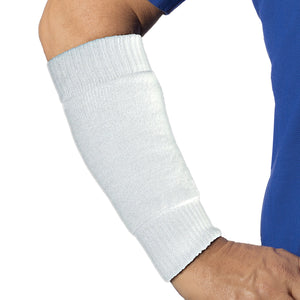 White are protection for the forearm