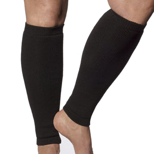 Protect your shins with these black leg protectors