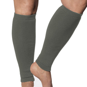 Leg protectors for fragile skin olive colour