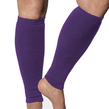 Load image into Gallery viewer, Protect legs from injury with these purple Limbkeepers