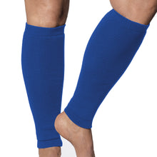 Load image into Gallery viewer, leg protection sleeves in royal blue bu Limbkeepers australia