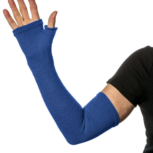 Royal Blue full arm protectors and hand protection