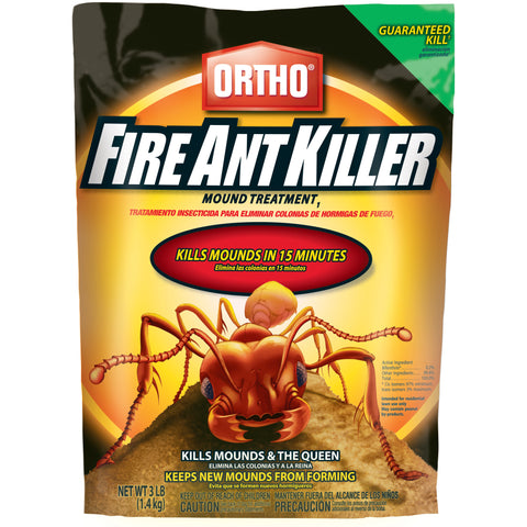 ortho fire ant killer - 3 lbs.