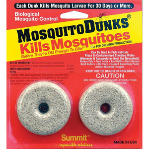 "Mosquito Dunks ""Kills Mosquitoes"" - 2 Pack"