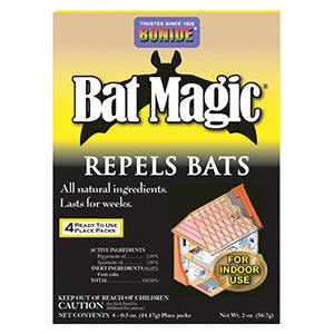 Bonide Bat Magic - 4 packs