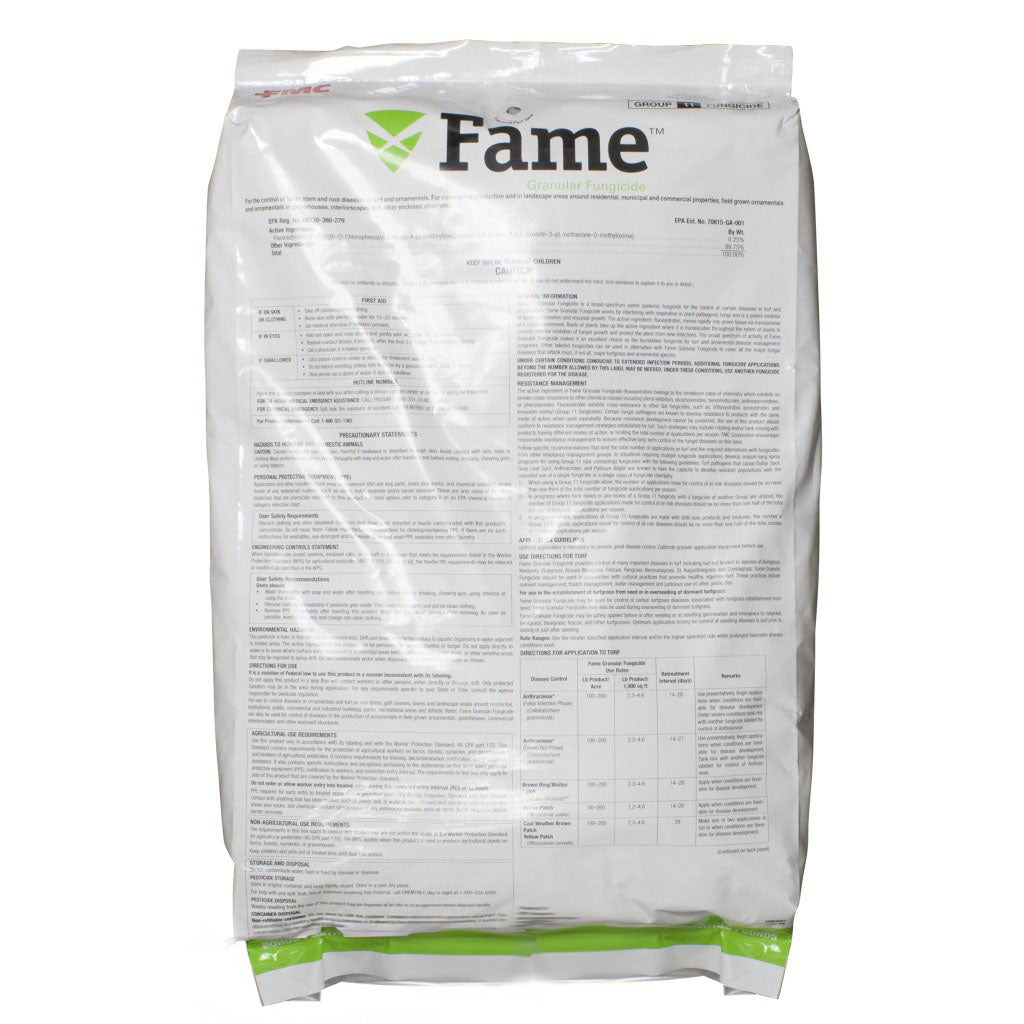 Fame Granular Fungicide (Disarm G substitute) - 25 lbs. - Seed World