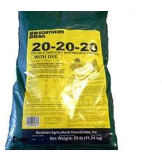 20-20-20 Soluble Fertilizer with Dye - 25 Lbs.