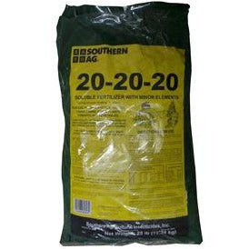 20-20-20 Soluble Fertilizer - 25 Lbs.