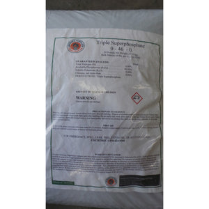 Triple Superphosphate Fertilizer 0-46-0 - 1 Lb.