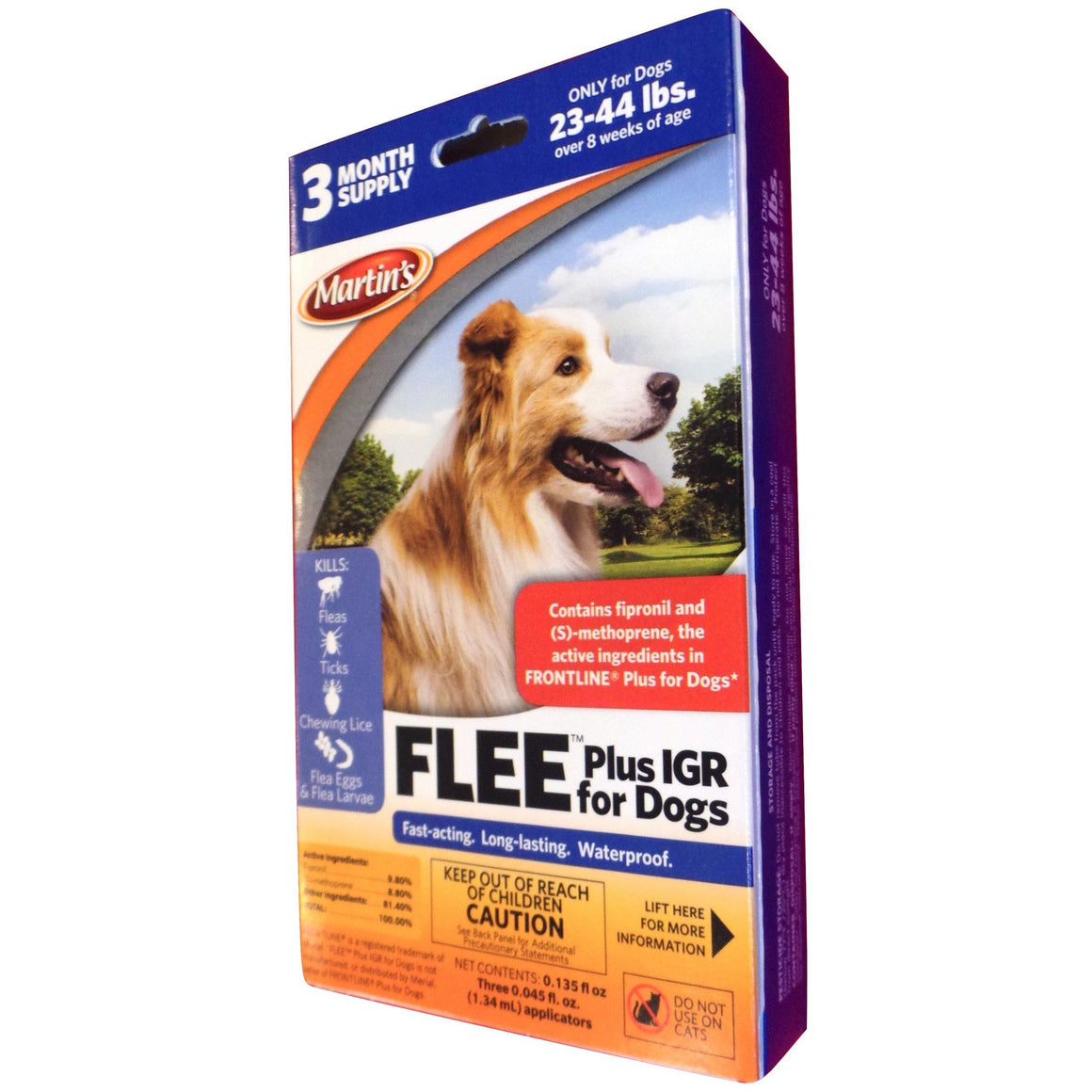 Flee Plus IGR for Dogs 23 - 44 Lbs.