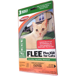 Flee Plus IGR for Cats - Seed World