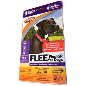 Flee Plus IGR for Dogs 45 - 88 Lbs.