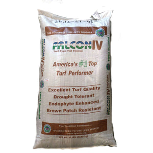 Falcon IV Turf Type Tall Fescue Grass Seeds - 10 Lbs.