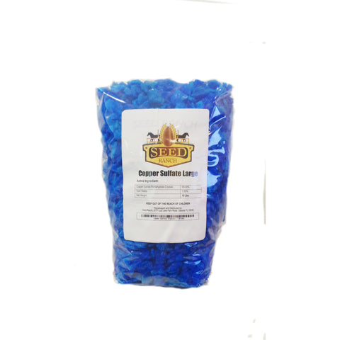 Copper Sulfate Large Crystals - 1 Lb.