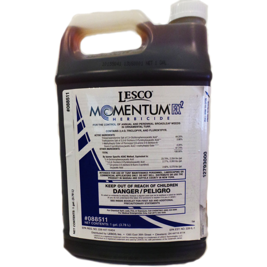 It is a photo of Magic Lesco Three Way Selective Herbicide Label