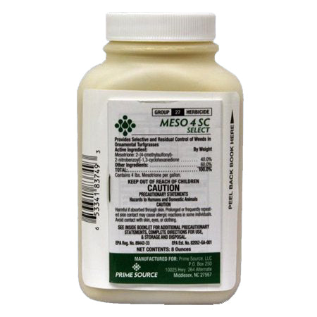 Meso 4SC Mesotrione Herbicide (Tenacity Alternative) - 8 oz.