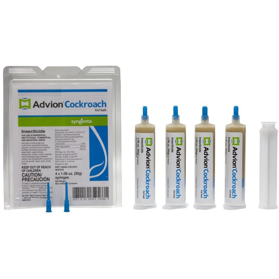 Advion Cockroach Gel Bait Tubes