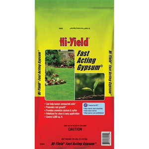 Hi-Yield Fast Acting Gypsum Fertilizer - 25 lbs - Seed World