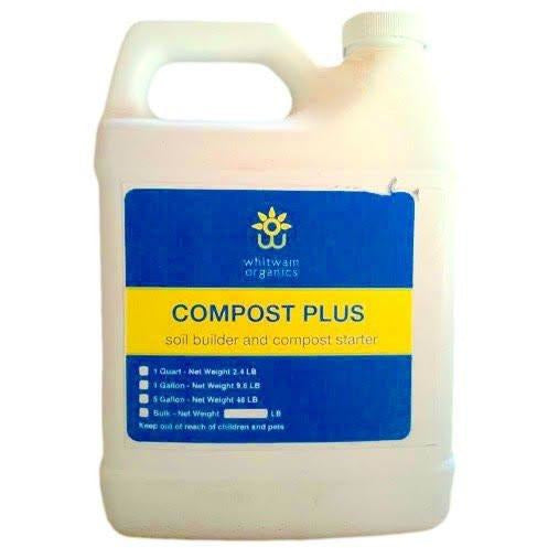 Compost Plus Soil Builder & Fertilizer