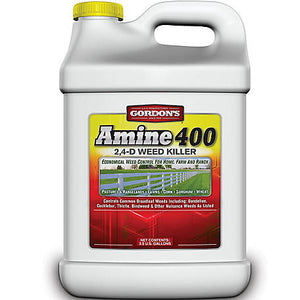 Amine 400 2,4-D Weed Killer Herbicide - 2.5 Gallons