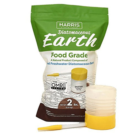 Harris Diatomaceous Earth Food Grade - 2 lbs (includes duster)