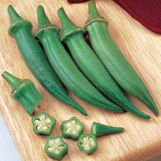 Okra Seed Clemson Spineless - 1 Lb. - Seed World