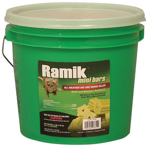 Neogen Ramik Rodenticide Mini Bars - 4 Lbs.