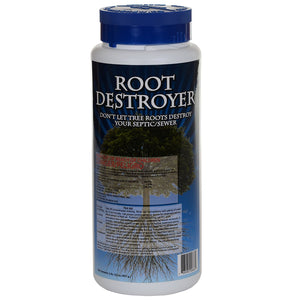 ROOT DESTROYER Septic Root Remover - 2 lbs - Seed World