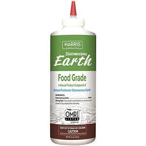 Harris Diatomaceous Earth Food Grade - 8 oz - Seed World