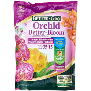 Better-Gro Orchid Better-Bloom Fertilizer 11-35-15 - 1 lb. - Seed World