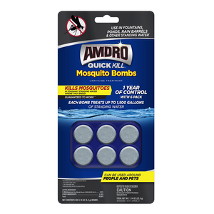 Amdro Quick Kill Mosquito Bombs - 6 bombs - Seed World
