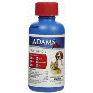 Adams plus pyrethrin dip