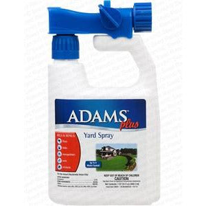 Adams plus flea and tick yard spray