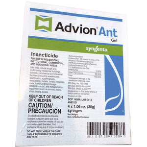 Advion Ant Gel Bait Insecticide - 4 x 1.06 Oz. Syringes - Seed World