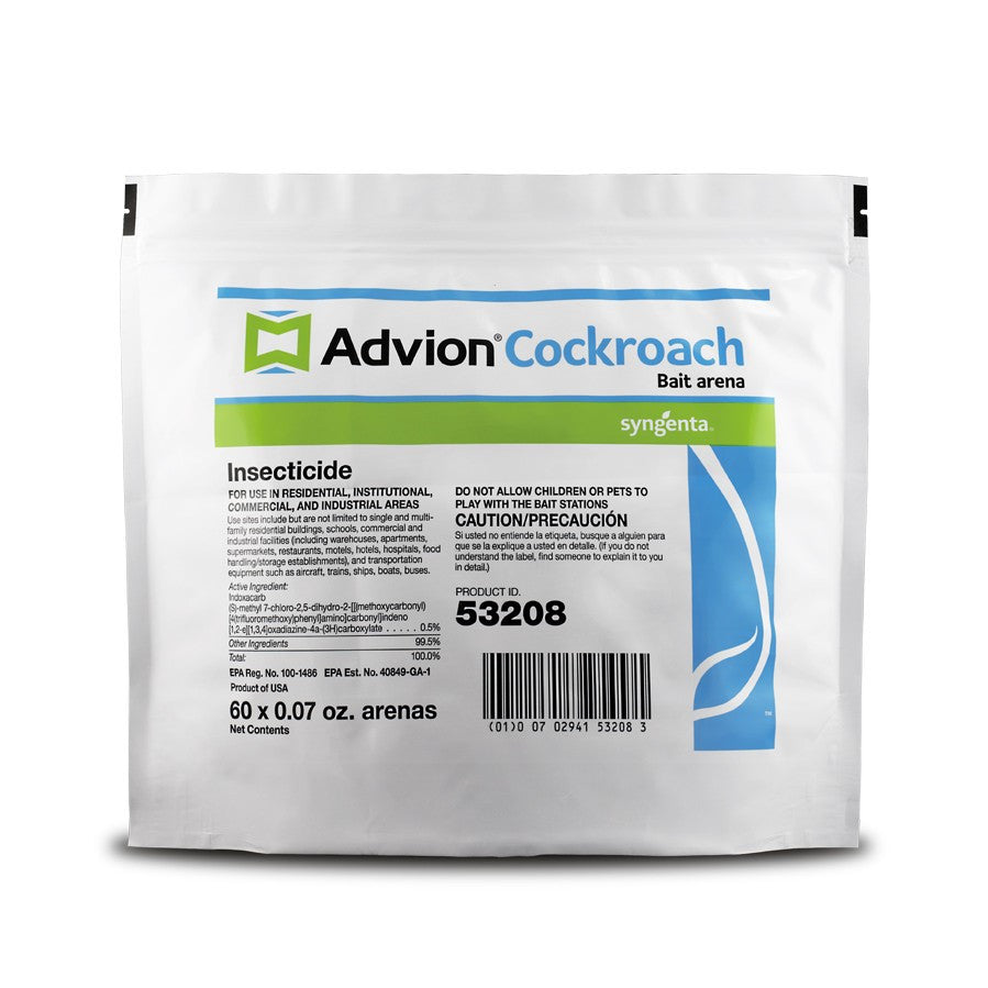 Advion Cockroach Bait Arena - 60 x 0.07 Oz. Stations - Seed World