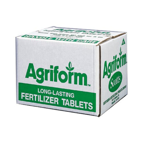 Agriform Tablet Fertilizer 20-10-5 Slow Release - (1000 x 10g)