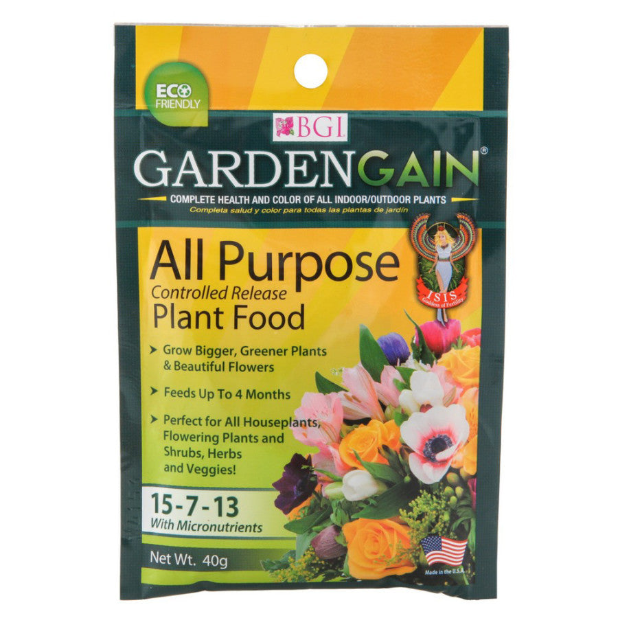 Bgi Gardengain 15-7-13 - All-Purpose Plant Food Fertilizer - Seed World